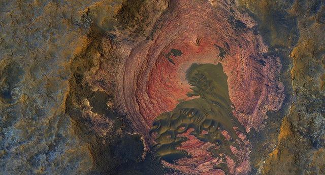 Nasa tiết lộ hình ảnh trái tim của sao hỏa