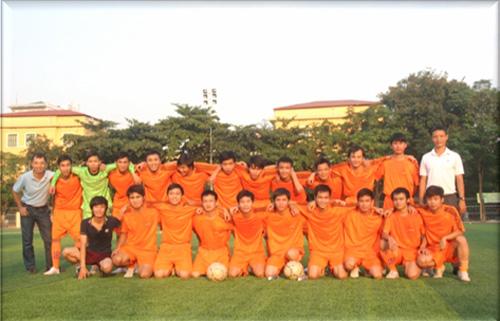 Giao lưu bóng đá giữa Trường ĐHQT Bắc Hà và Trường ĐH Sư phạm Hà Nội