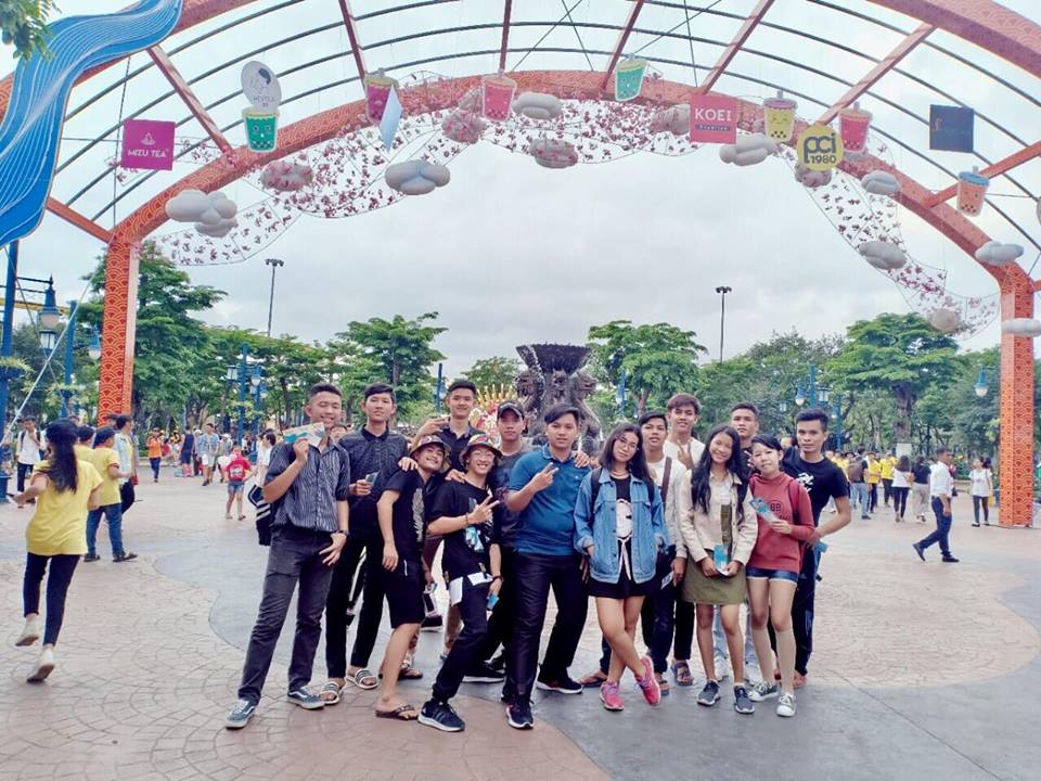 Chyến du lịch, dã ngoại hè 2019 của sinh viên Lào và Campuchia