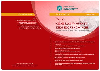 Một số vấn đề về cơ chế tài chính với hoạt động khoa học và công nghệ ở Việt Nam