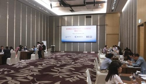 Chương trình kết nối giao thương Việt Nam - Hàn Quốc (20/07/2016)